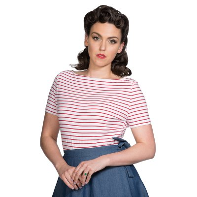 Banned Top Italy Sail Stripe Rot