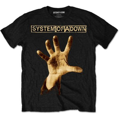 System of a Down T-Shirt Hand Schwarz