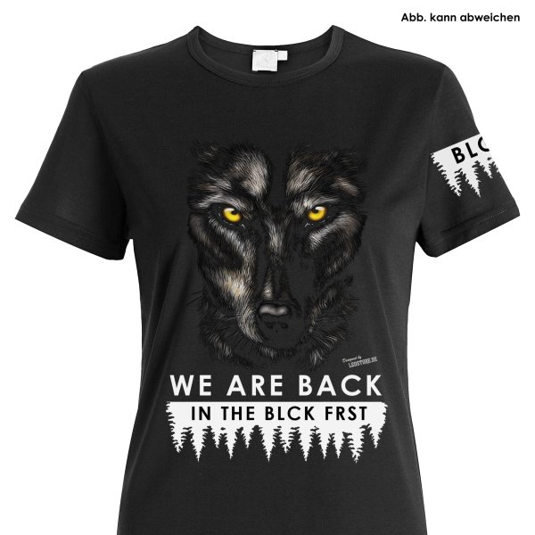 Blck Frst Wolf Girly Shirt