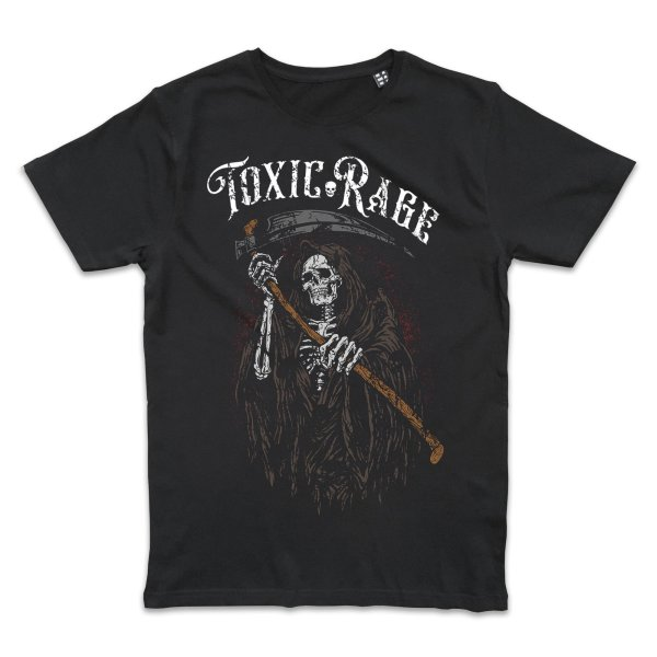 Metal Tattoo Toxic Rage Reaper T-Shirt