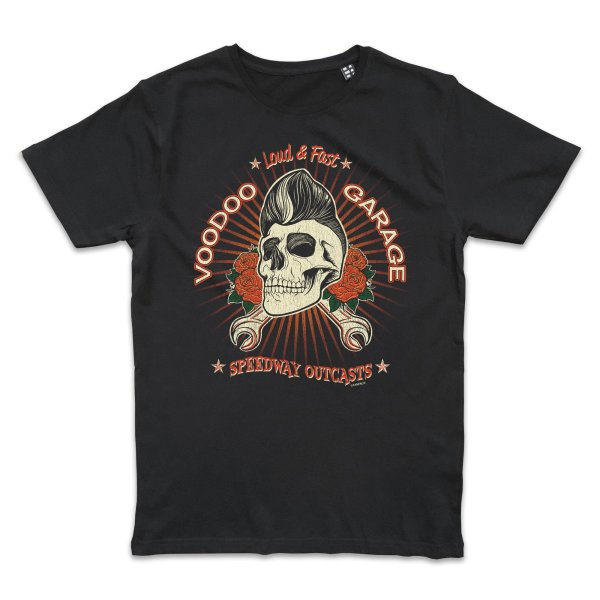 Metal Tatto Voodoo Garage T-Shirt