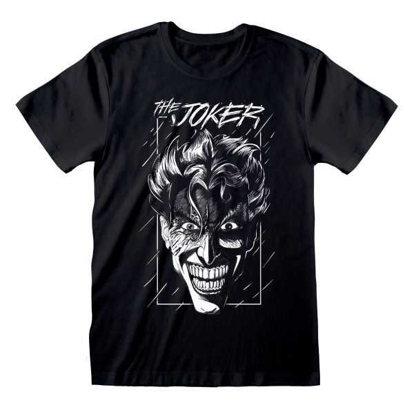 DC Batman T-Shirt Joker Sketch