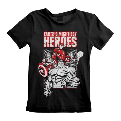 Avengers Kinder T-Shirt Earths Mightiest Heroes