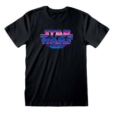 Star Wars T-Shirt 80s Logo